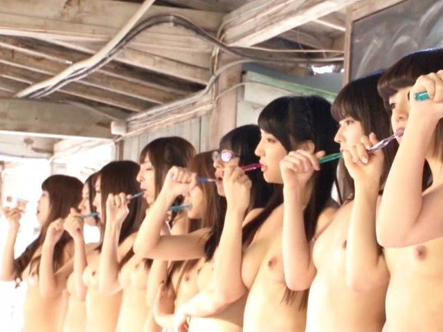 Asian teens naked 15