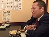 Busty mature Kyouka Miyabe loves to suck dick