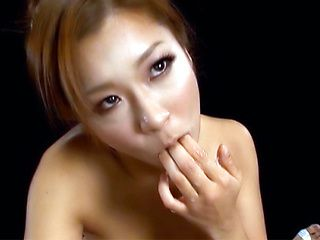 Beautiful Japanese AV Model makes magic in pure POV action