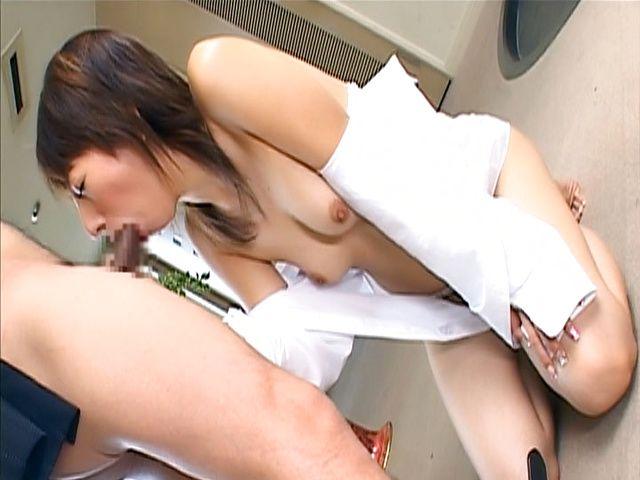 Cock sucking amateur milf enjoys jizz on tits and lips