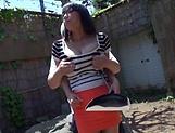 Sankihon Nozomi gets splashed with jizz picture 15