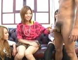 Innocent amateurs Risa Yuno and Kanede love dick