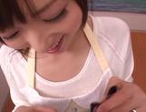 Gorgeous amateur JP MILF, Yuu Asakura gives a nice POV blowjob picture 12