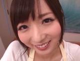 Gorgeous amateur JP MILF, Yuu Asakura gives a nice POV blowjob picture 13