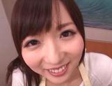 Gorgeous amateur JP MILF, Yuu Asakura gives a nice POV blowjob