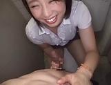 Marvelous Asian bimbo loves taking hot dick picture 12