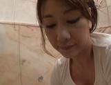 Sexy babe Ikumi Kondou enjoys a lovley shag