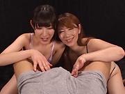 Kinky Chisato Shohnda knows how to suck cock