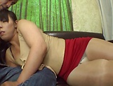 POV blowjob spectacle with a hot Japanese AV Model picture 11