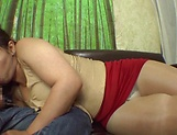 POV blowjob spectacle with a hot Japanese AV Model picture 12