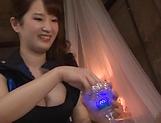 Busty Asian Osaki Mio gives incredible handjob picture 11