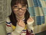 Playful Asianchick Miku Sunohara sucks dick on Japanese pov picture 13