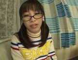 Playful Asianchick Miku Sunohara sucks dick on Japanese pov picture 15