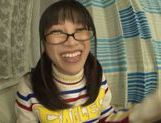Playful Asianchick Miku Sunohara sucks dick on Japanese pov picture 16