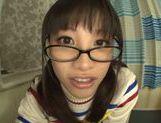 Playful Asianchick Miku Sunohara sucks dick on Japanese pov picture 18