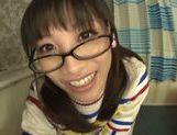 Playful Asianchick Miku Sunohara sucks dick on Japanese pov picture 19