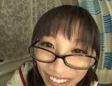Playful Asianchick Miku Sunohara sucks dick on Japanese pov picture 20