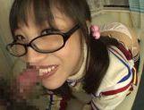 Playful Asianchick Miku Sunohara sucks dick on Japanese pov picture 23
