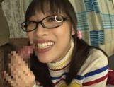 Playful Asianchick Miku Sunohara sucks dick on Japanese pov picture 30