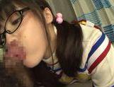 Playful Asianchick Miku Sunohara sucks dick on Japanese pov picture 32