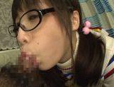 Playful Asianchick Miku Sunohara sucks dick on Japanese pov picture 34