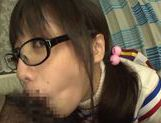 Playful Asianchick Miku Sunohara sucks dick on Japanese pov picture 36