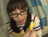 Playful Asianchick Miku Sunohara sucks dick on Japanese pov picture 39