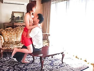 Amateur wife Jyuri Yoshino blows a juicy cock in POV Asian style