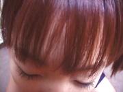 Hina Otosaki, jizzed on face after a wild Asian hardcore fuck