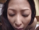 Nasty hardcore for obedient Japanese mature, Marie Sugimoto picture 130