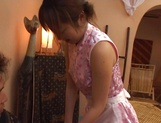Sensual Asian teen gets sexual attention from boss picture 26