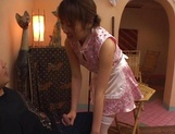 Sensual Asian teen gets sexual attention from boss picture 28