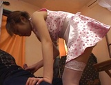 Sensual Asian teen gets sexual attention from boss picture 29
