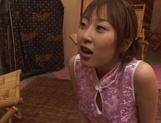 Sensual Asian teen gets sexual attention from boss picture 58