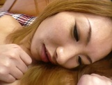 Amateur Asian teen, Kumi Sakura, pounded really hard picture 18