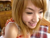 Amateur Asian teen, Kumi Sakura, pounded really hard