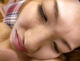 Amateur Asian teen, Kumi Sakura, pounded really hard picture 58