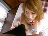 Amateur Asian teen, Kumi Sakura, pounded really hard picture 62