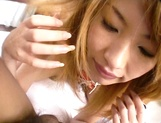 Amateur Asian teen, Kumi Sakura, pounded really hard picture 78