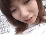 Dirty-minded Asian teen, Riho Mishima, gets her mouth and pussy fucked hard picture 11