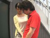Dominating Japanese AV Model is a mature cock hunting milf picture 15