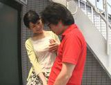 Dominating Japanese AV Model is a mature cock hunting milf picture 16