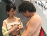 Dominating Japanese AV Model is a mature cock hunting milf picture 33