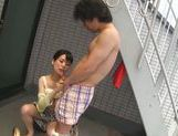 Dominating Japanese AV Model is a mature cock hunting milf picture 38