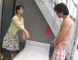 Dominating Japanese AV Model is a mature cock hunting milf picture 47