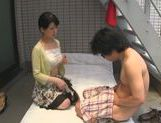 Dominating Japanese AV Model is a mature cock hunting milf picture 49