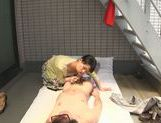 Dominating Japanese AV Model is a mature cock hunting milf picture 54