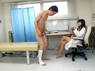 Amateur and wild MILF nurse loves  action in pantyhose