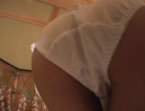 Hottie with bubble ass Mai Hagiwara sucks cock on pov gets cum on ass picture 11