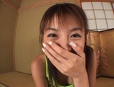 Hottie with bubble ass Mai Hagiwara sucks cock on pov gets cum on ass picture 14